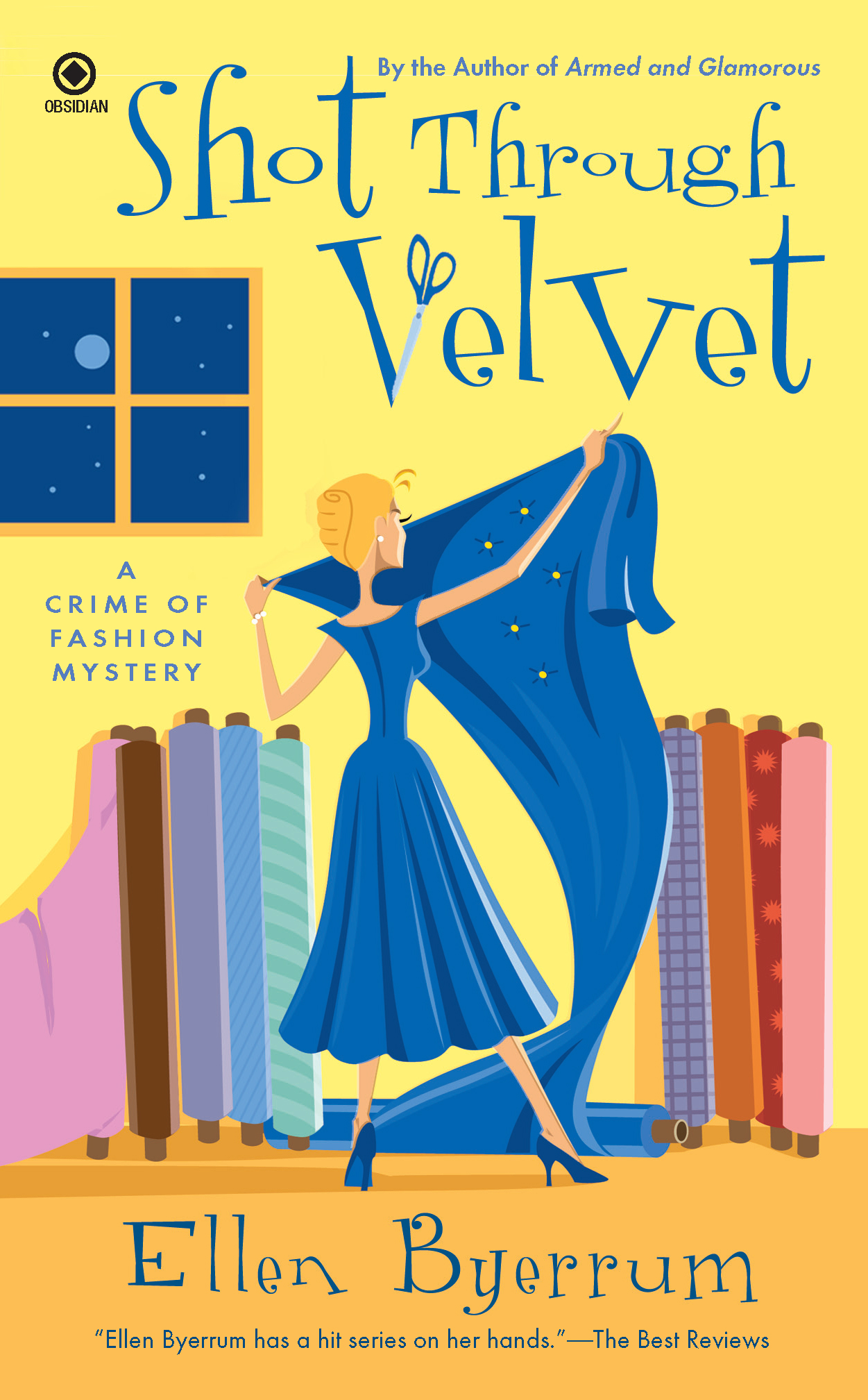 Shot Through Velvet: A Crime of Fashion Mystery By: Ellen Byerrum