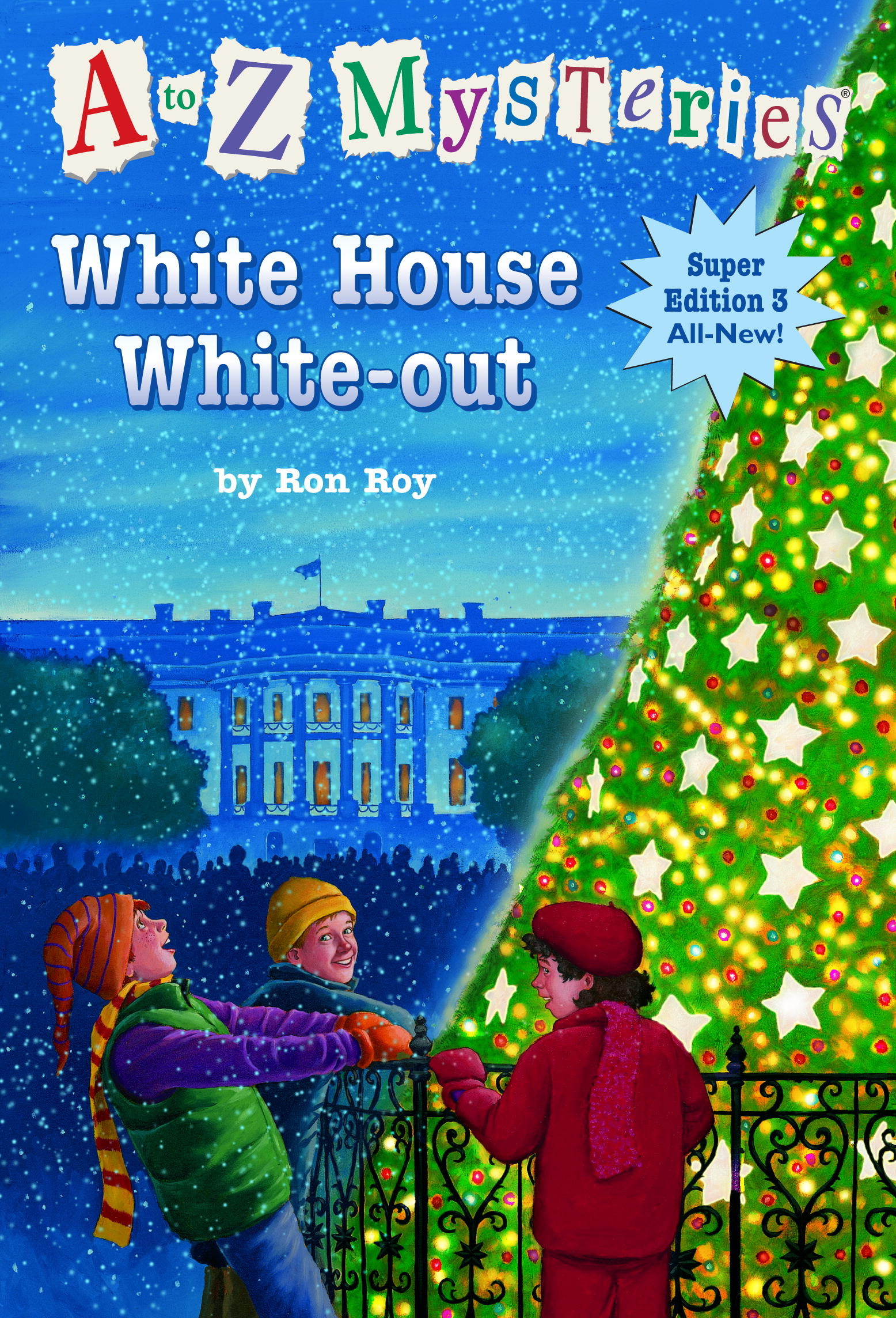 Cover Image: A to Z Mysteries Super Edition 3: White House White-Out