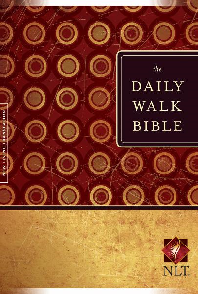 The Daily Walk Bible NLT By: Tyndale