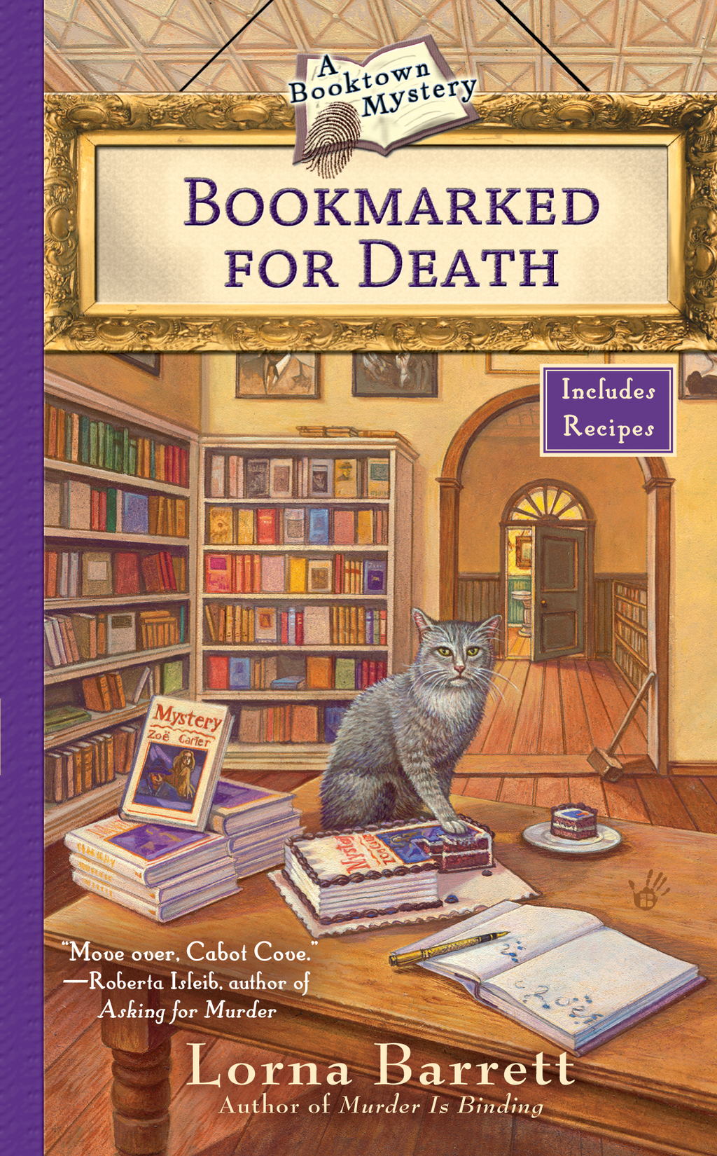 Bookmarked For Death By: Lorna Barrett