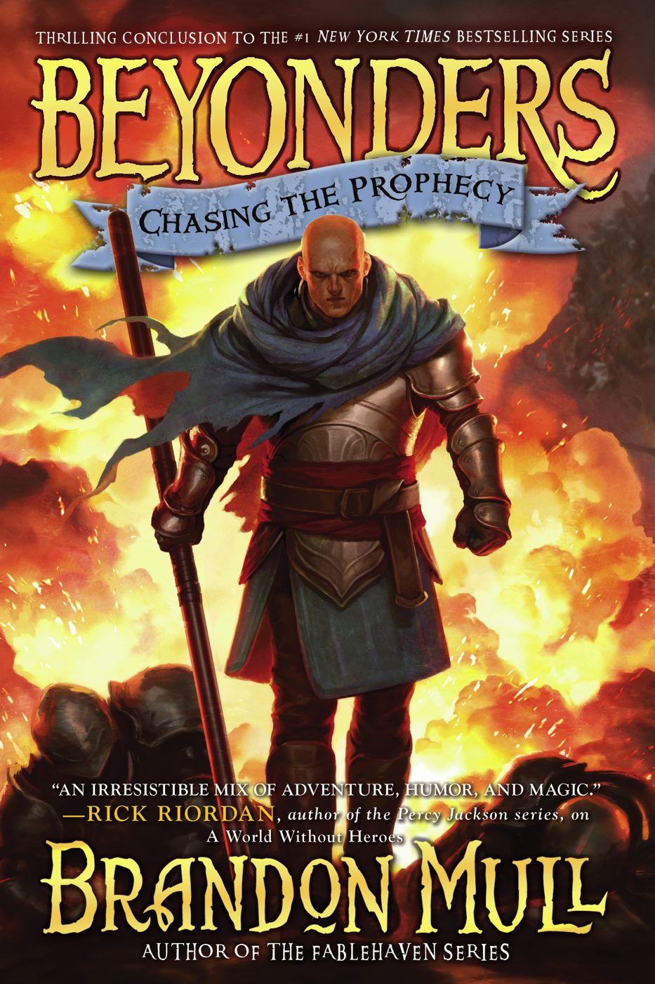 Chasing the Prophecy By: Brandon Mull
