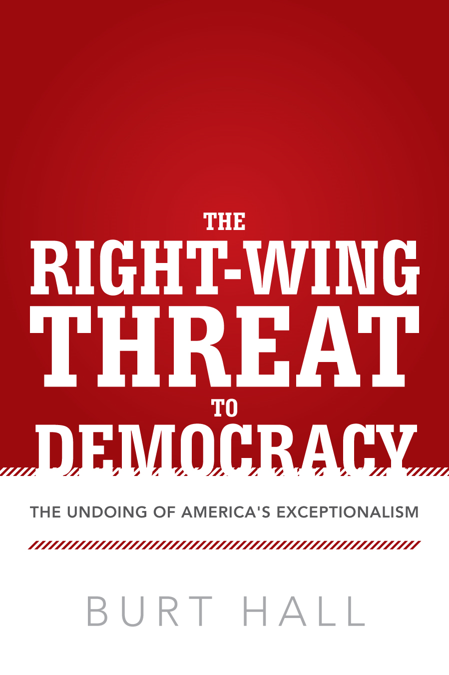 The Right-Wing Threat to Democracy By: Burt Hall