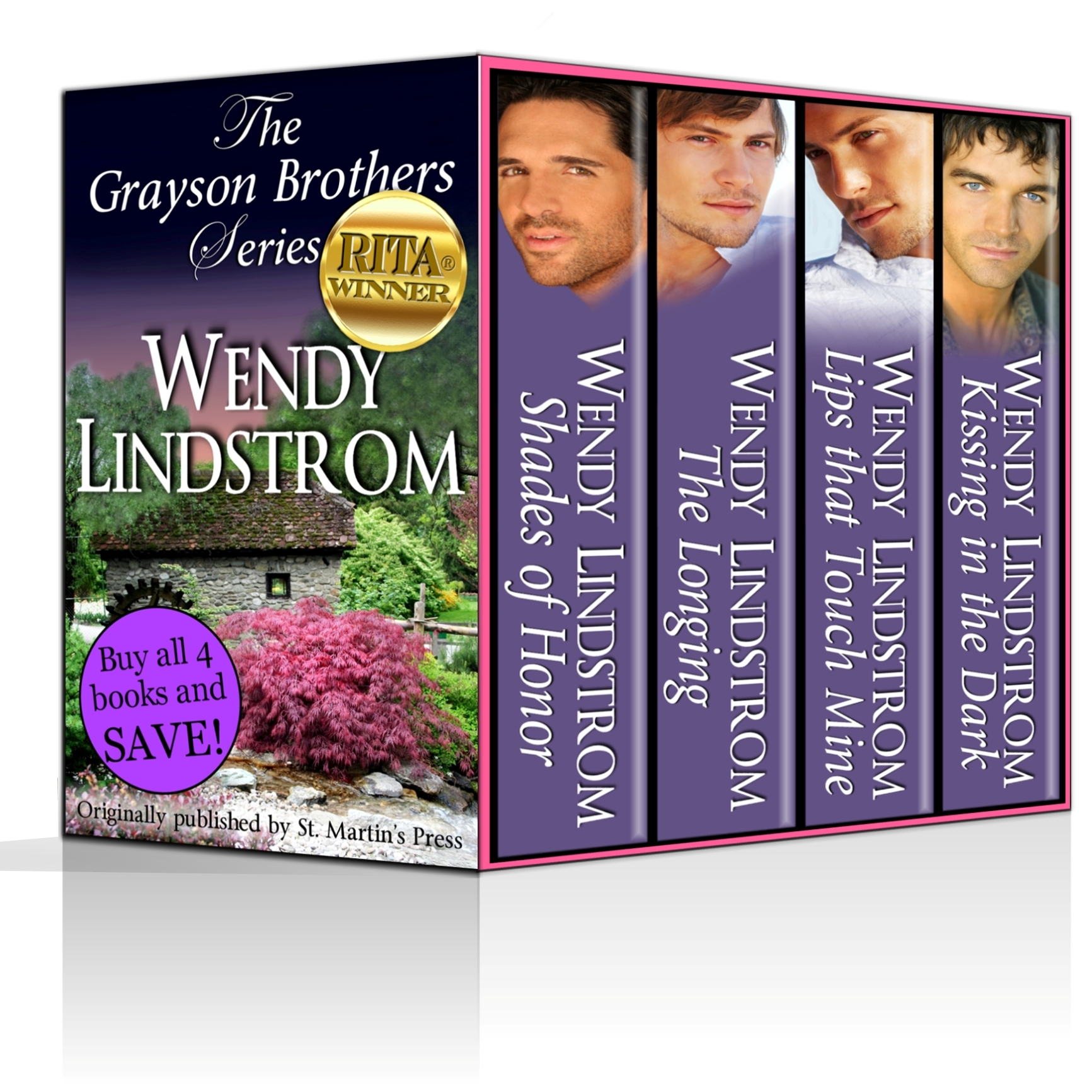 Grayson Brothers Series Boxed Set