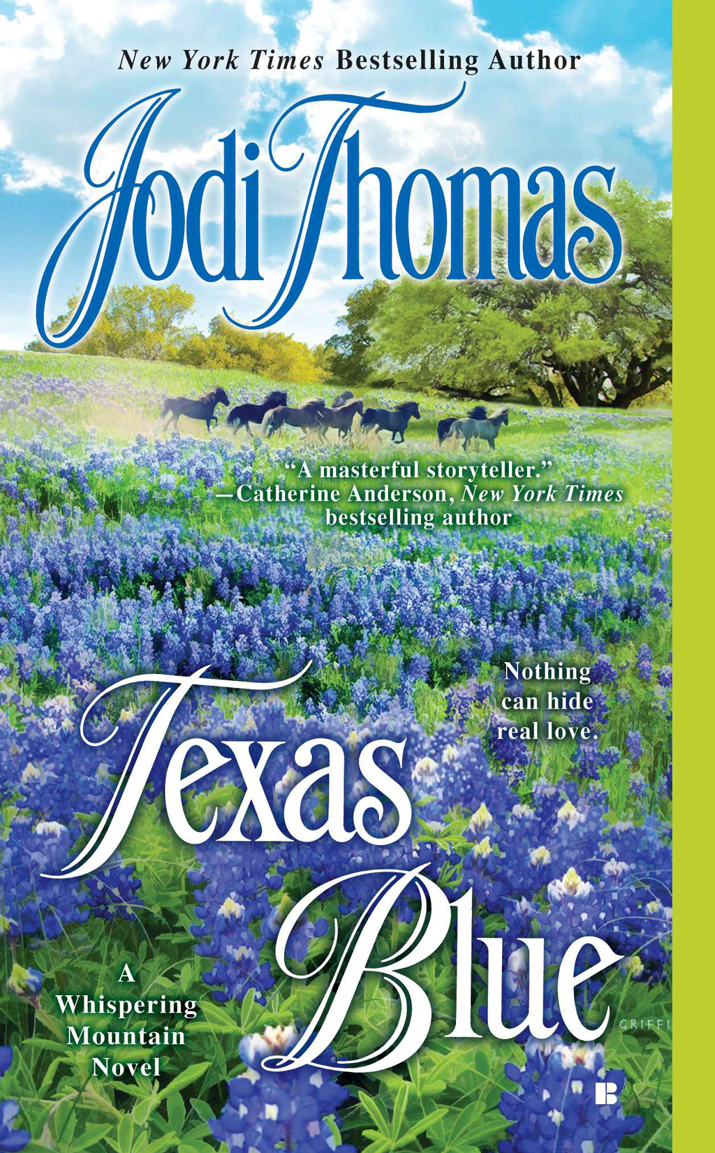 Texas Blue By: Jodi Thomas