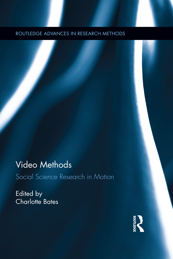 Video Methods Social Science Research in Motion