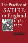 The Practice Of Satire In England, 16581770