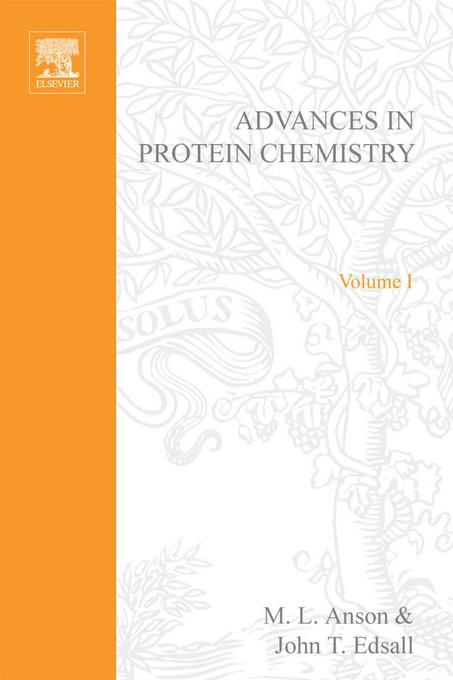 ADVANCES IN PROTEIN CHEMISTRY VOL 1
