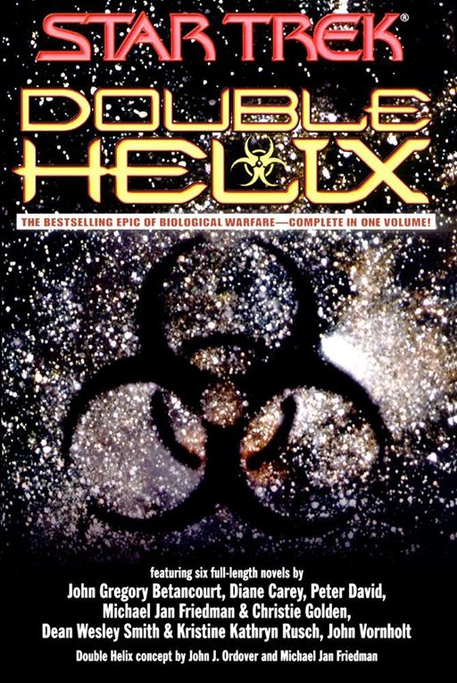Double Helix Omnibus By: Christie Golden,Dean Wesley Smith,Diane Carey,Esther Friesner,John Gregory Betancourt,Kristine Kathryn Rusch,Michael Jan Friedman,Peter David