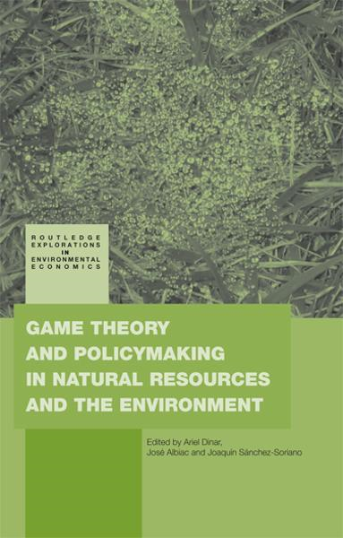 Game Theory and Policy Making in Natural Resources and the Environment