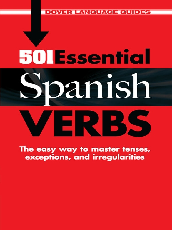 501 Essential Spanish Verbs By: Pablo Garcia Loaeza