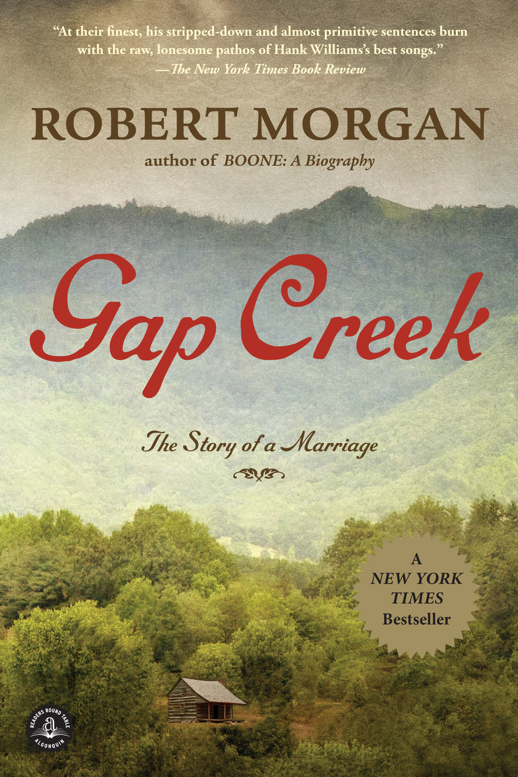 Gap Creek By: Robert Morgan