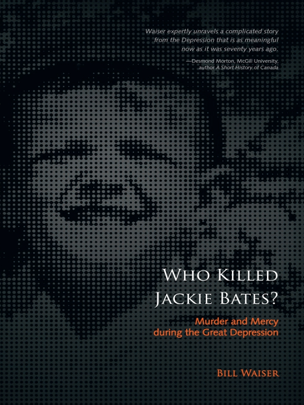 Who Killed Jackie Bates?