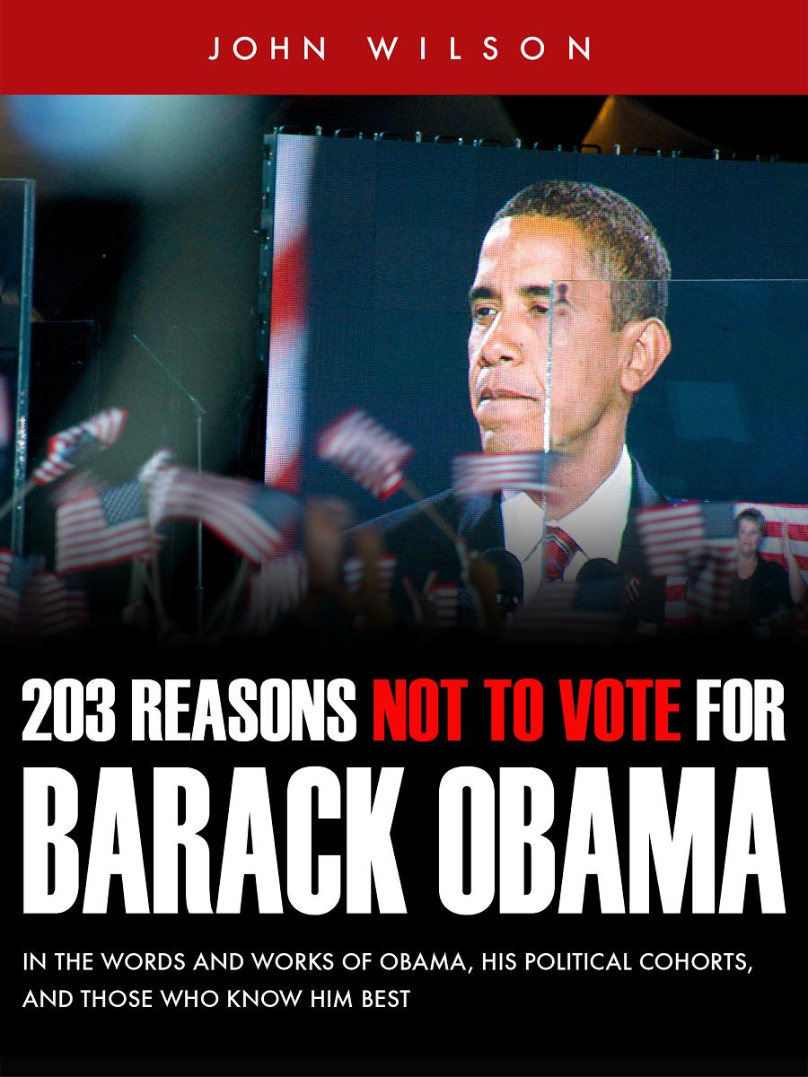 203 Reasons Not to Vote for Barack Obama