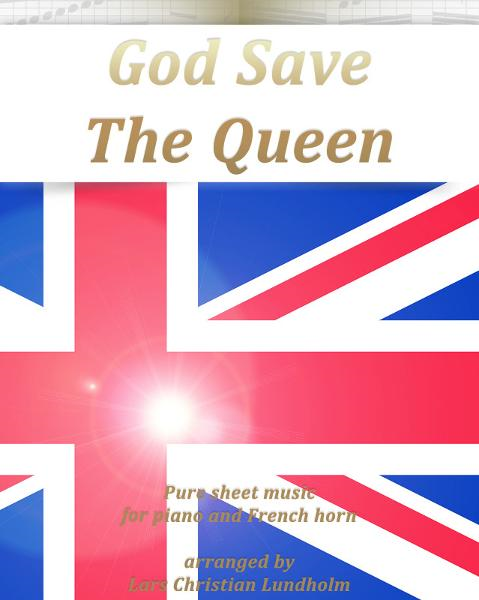 download god save the queen pure sheet music for piano and frenc