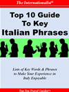 Top 10 Guide To Key Italian Phrases