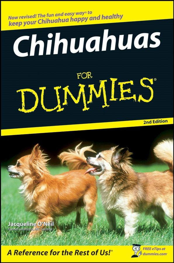 Chihuahuas For Dummies By: Jacqueline O'Neil