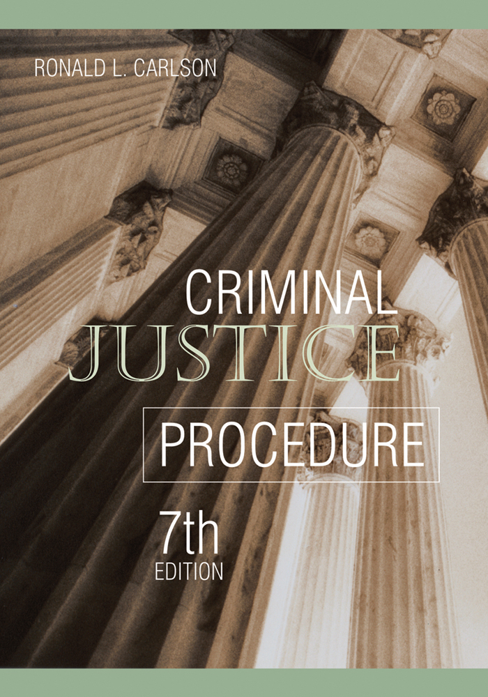 Criminal Justice Procedure