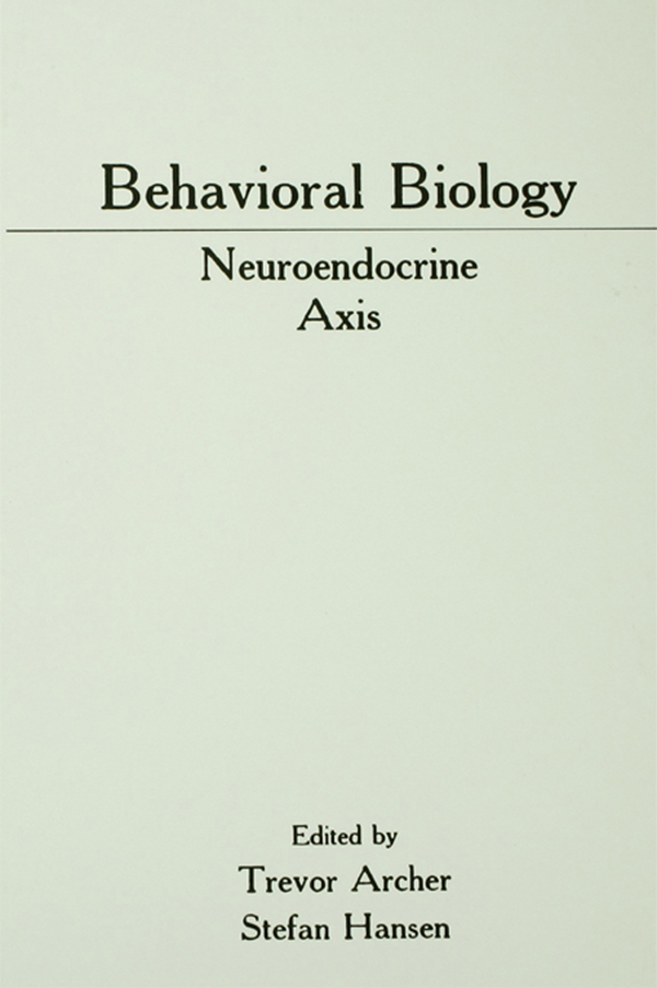 Behavioral Biology Neuroendocrine Axis
