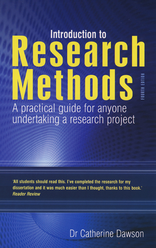 Introduction to Research Methods A practical guide for anyone undertaking a research project