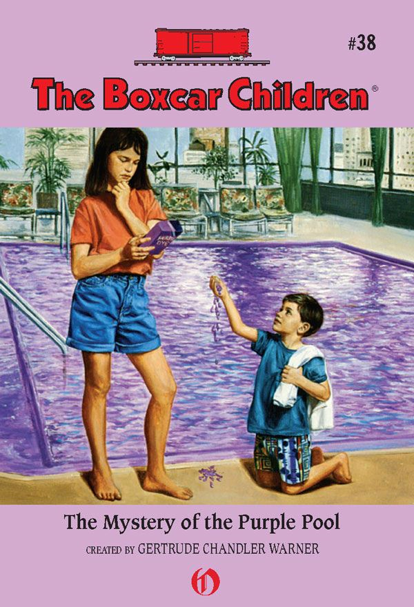 The Mystery of the Purple Pool By: Gertrude Chandler Warner,Charles Tang