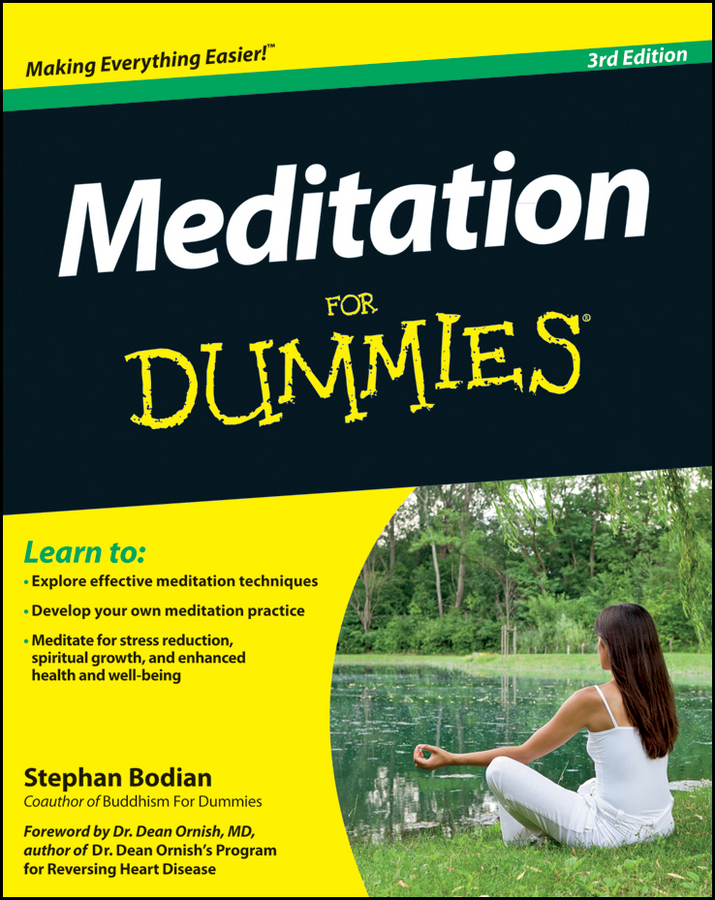 Meditation For Dummies By: Stephan Bodian