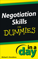 Negotiating Skills In A Day For Dummies: