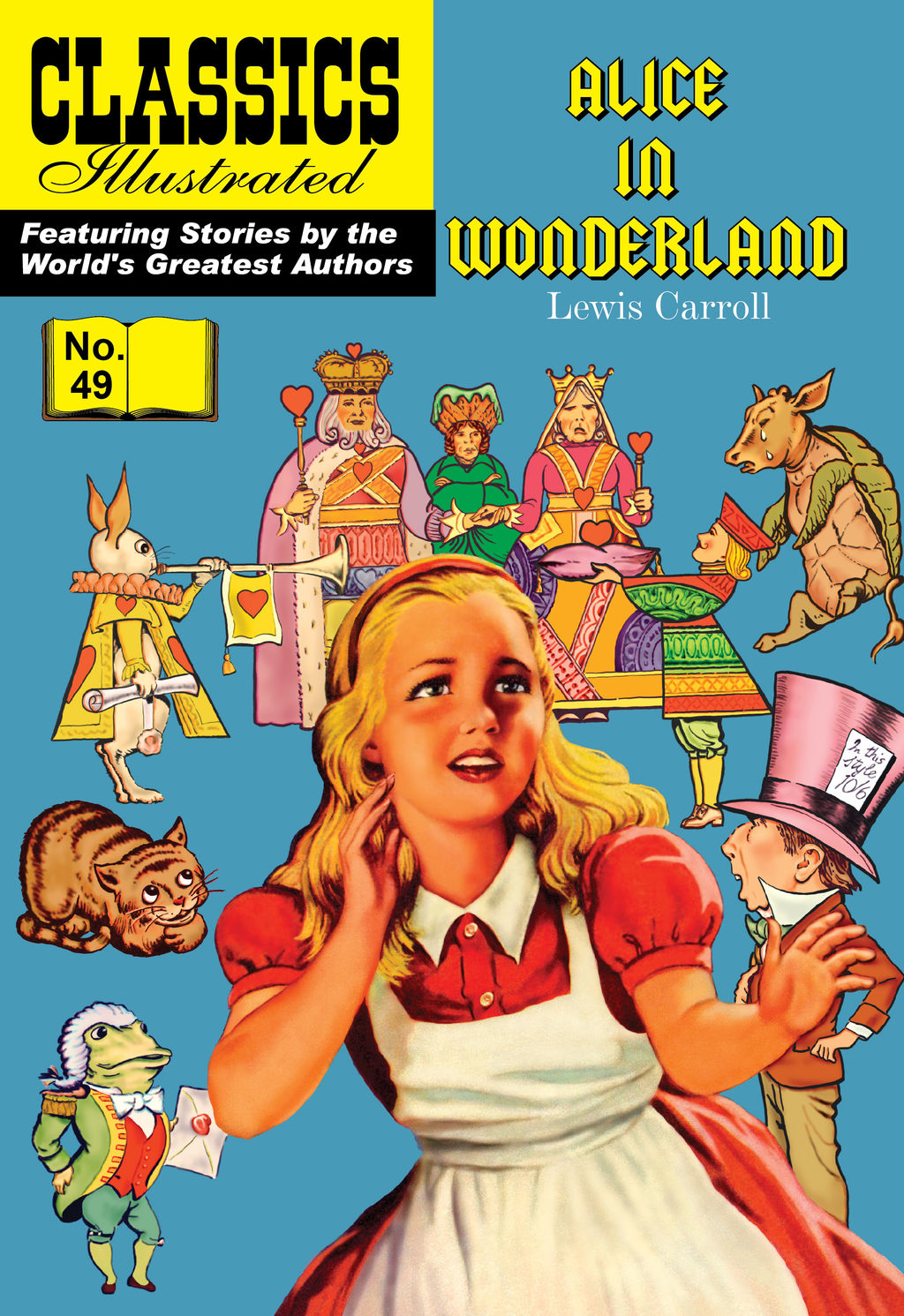 Alice in Wonderland - Classics Illustrated #49