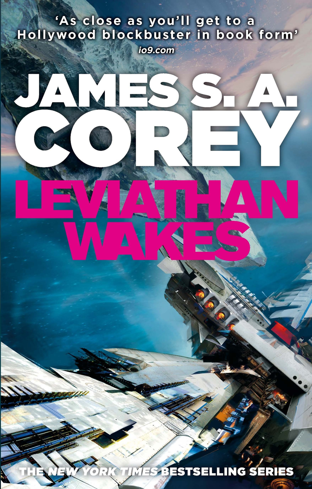Leviathan Wakes Book One of the Expanse series