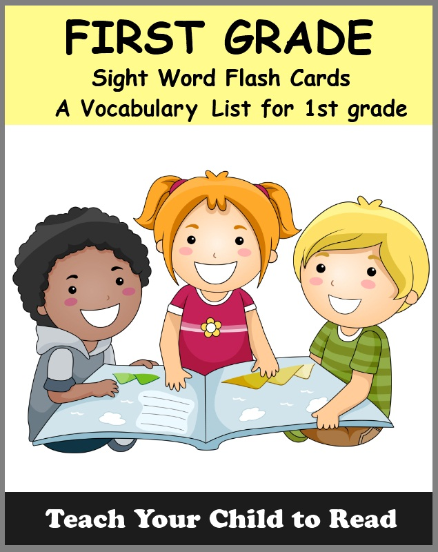 FIRST GRADE - Sight Word Flash Cards