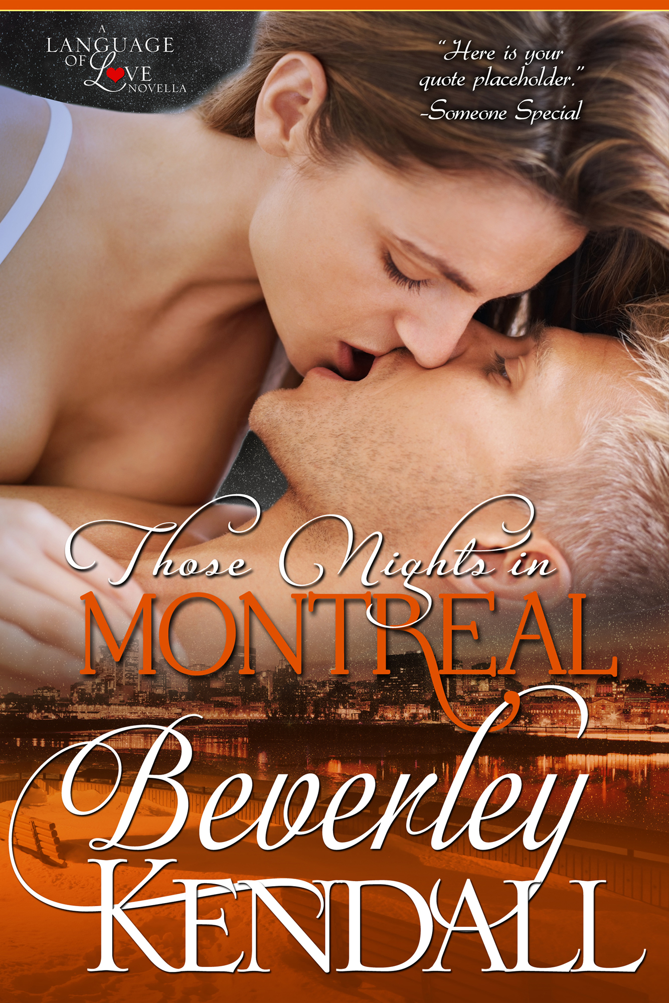 Those Nights in Montreal (Language of Love, Book 1.5)