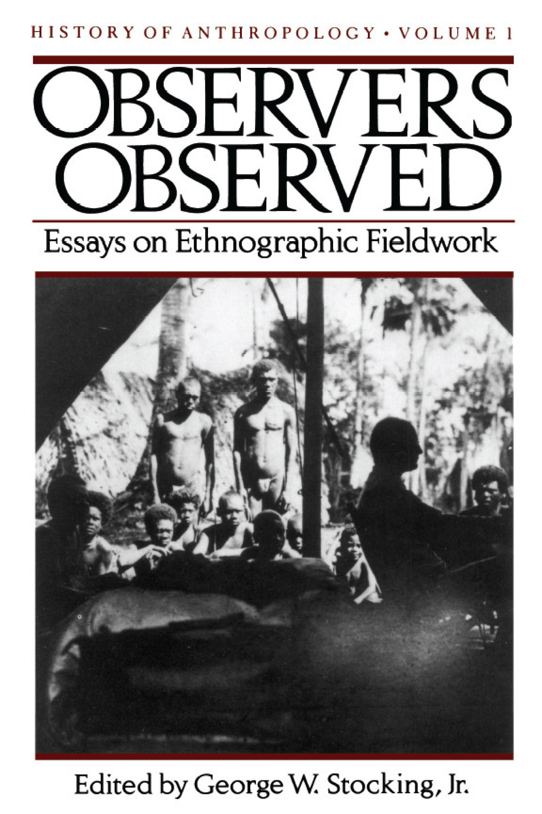 participant observation anthropology essay