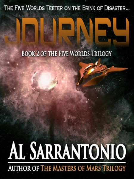 Journey: Book II of the Five Worlds Trilogy