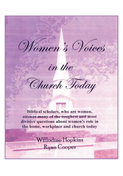 Women's Voices in the Church Today