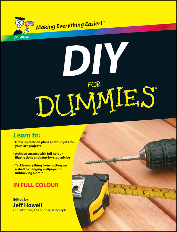 DIY For Dummies, UK Edition By: