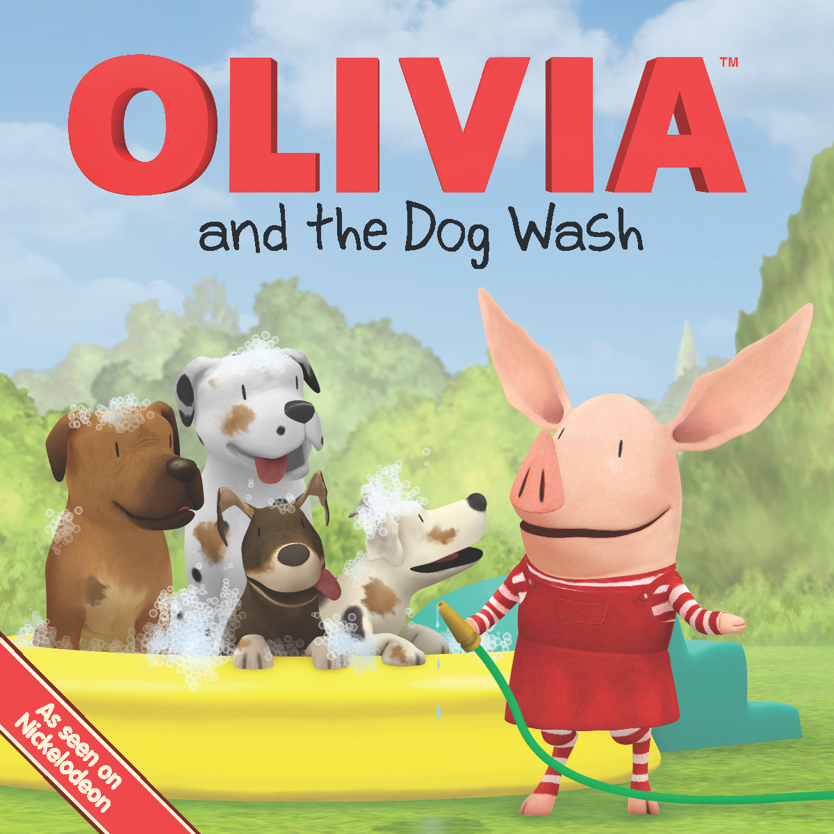 OLIVIA and the Dog Wash By: Natalie Shaw,Shane L. Johnson