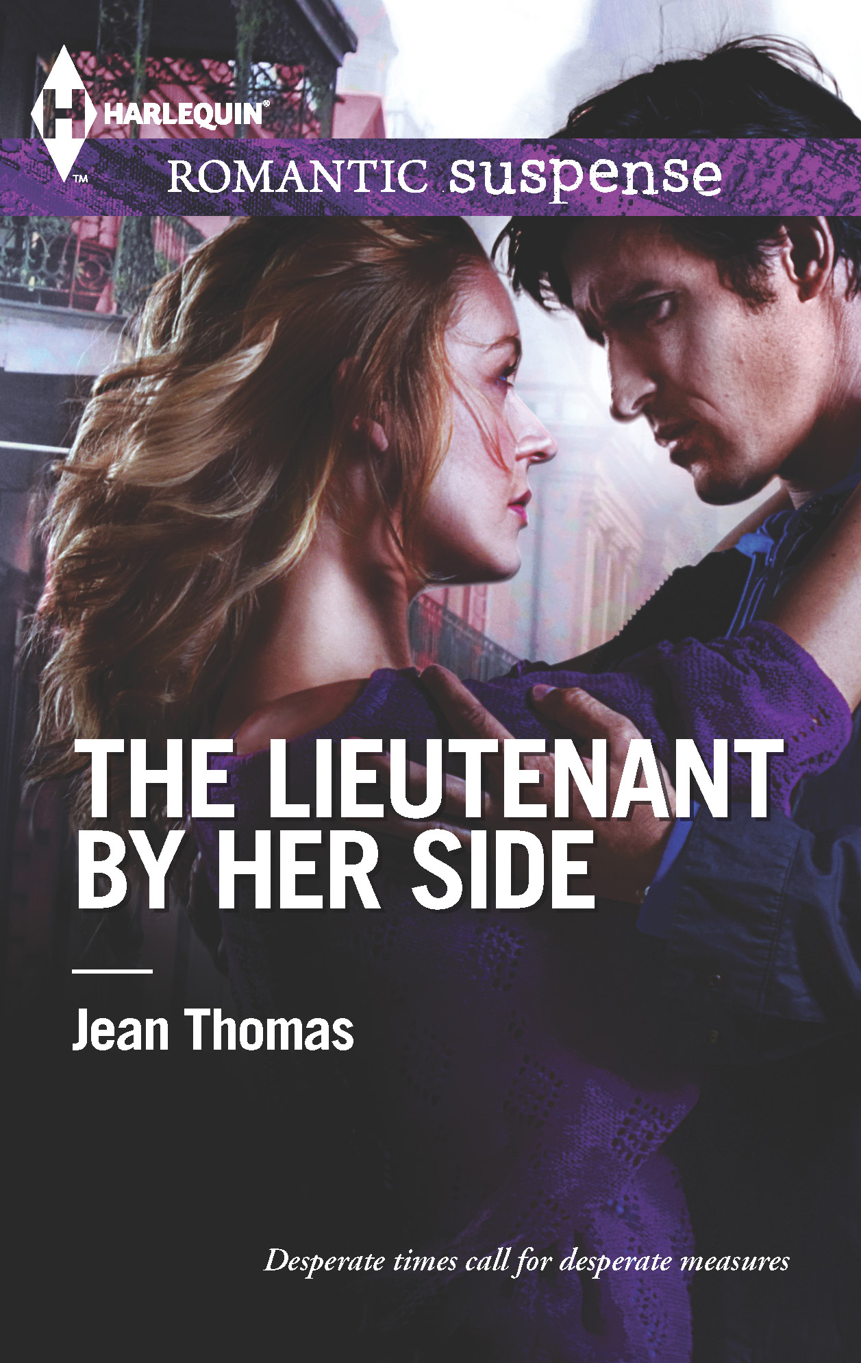 The Lieutenant by Her Side By: Jean Thomas