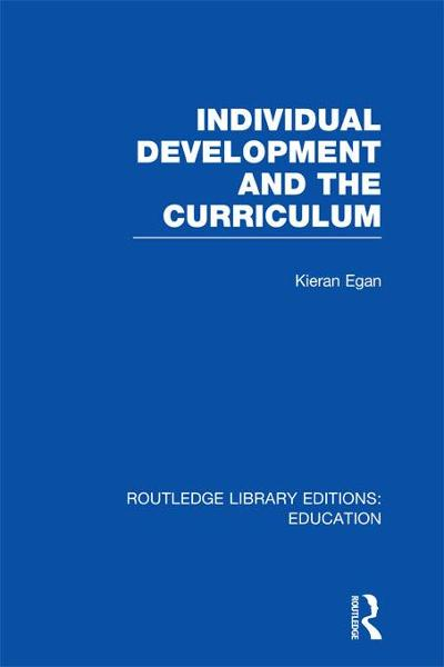 Individual Development and the Curriculum (RLE Edu B)
