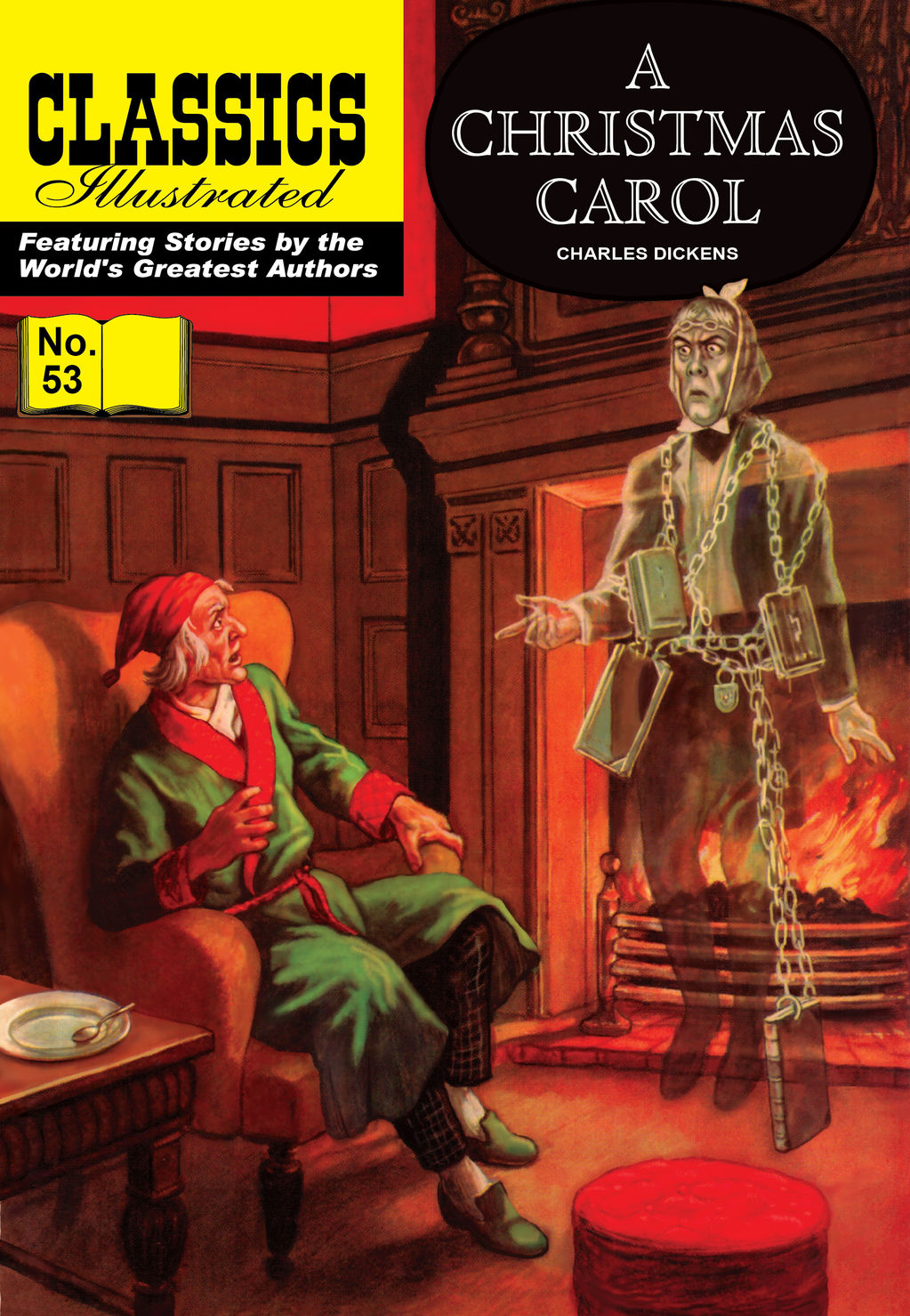 A Christmas Carol - Classics Illustrated #53