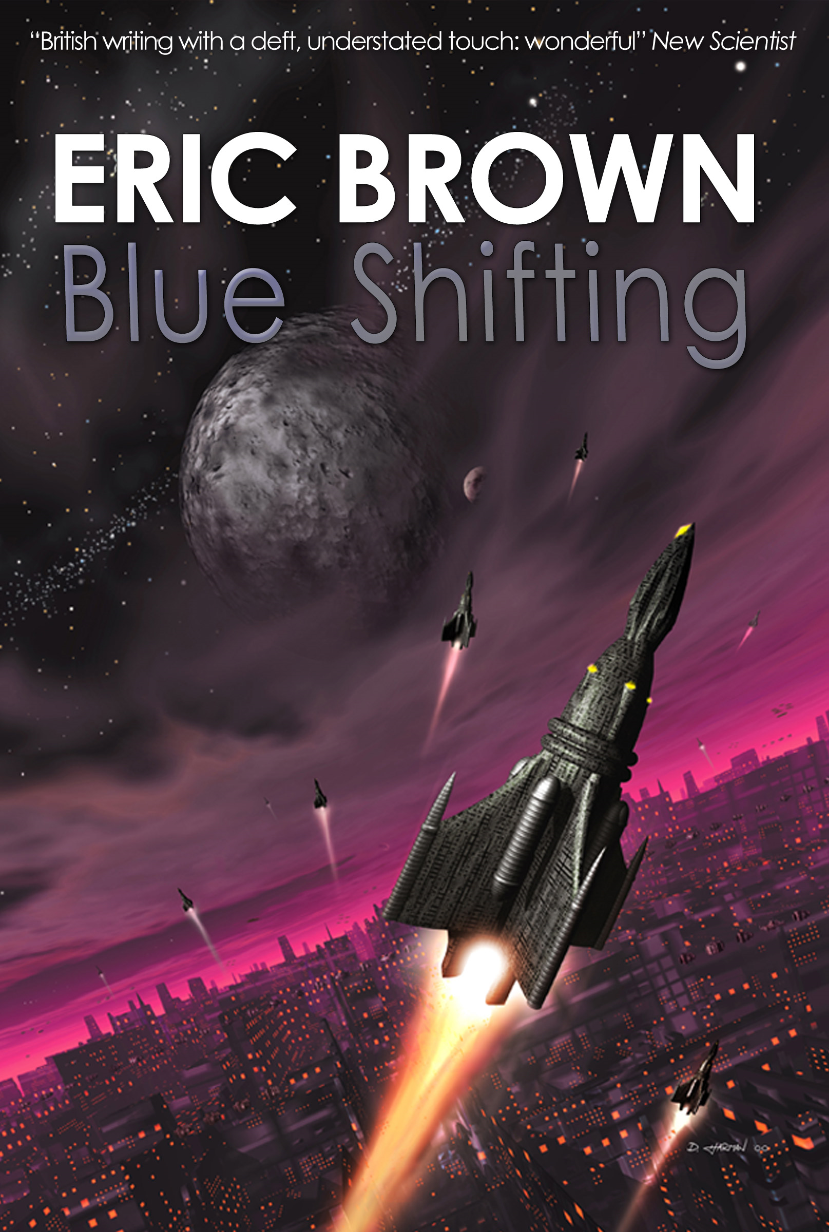 Blue Shifting By: Eric Brown