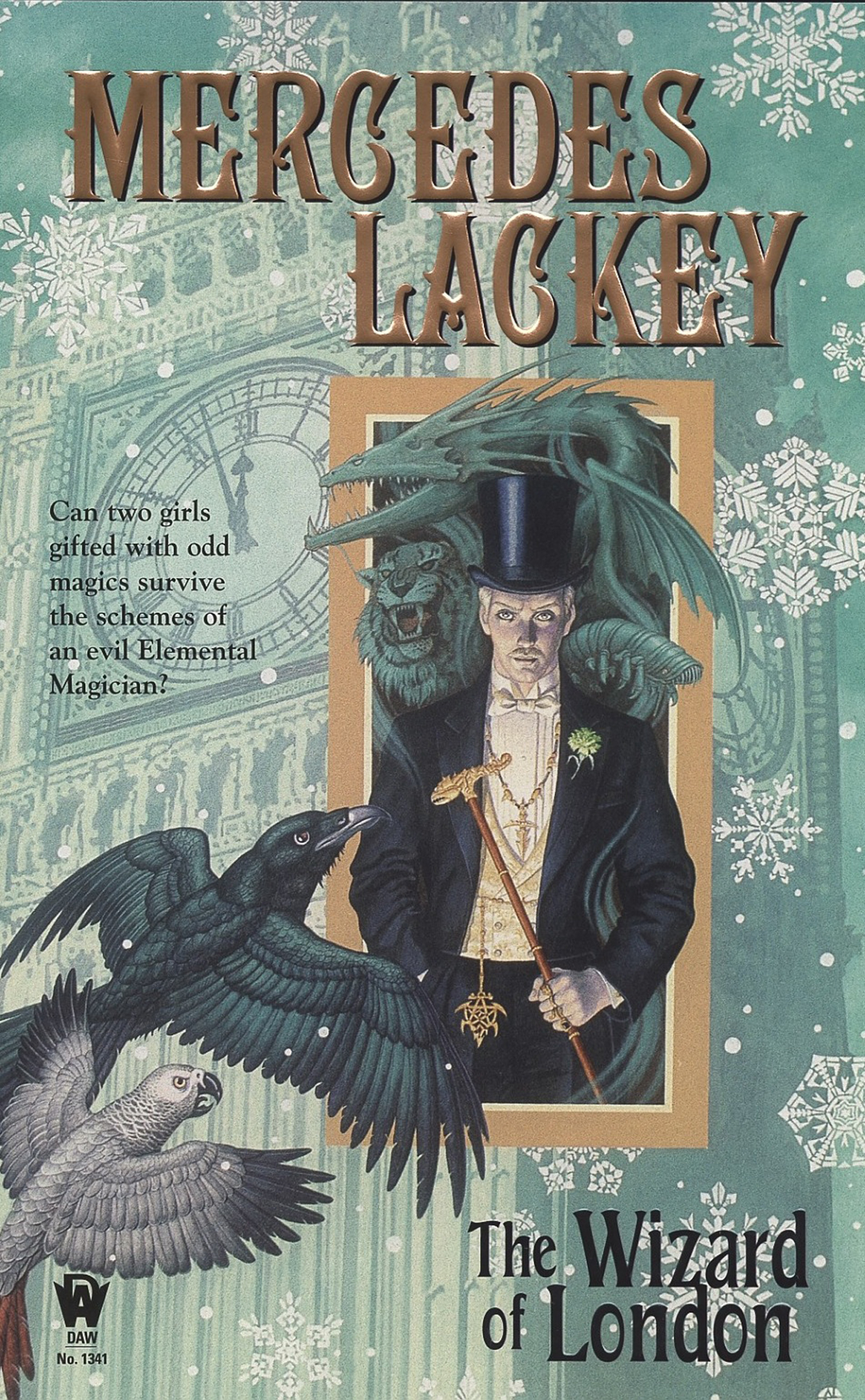 The Wizard of London: Elemental Masters #4 By: Mercedes Lackey