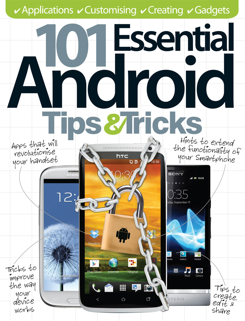 101 Essential Android Tips & Tricks By: Imagine Publishing