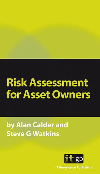 9781905356294  Risk Assessment For Asset Owners