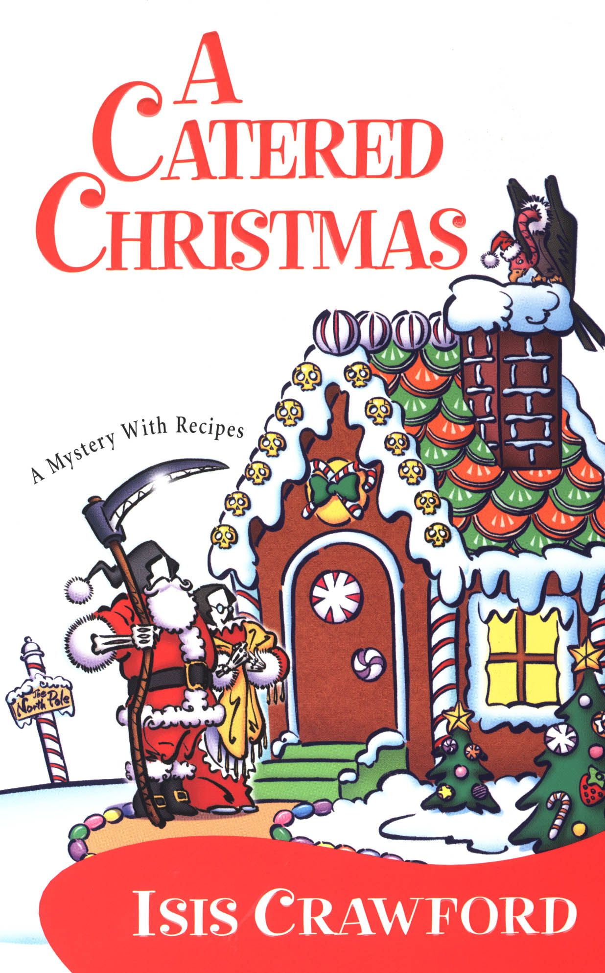 A Catered Christmas (Mystery with Recipes, No. 3)