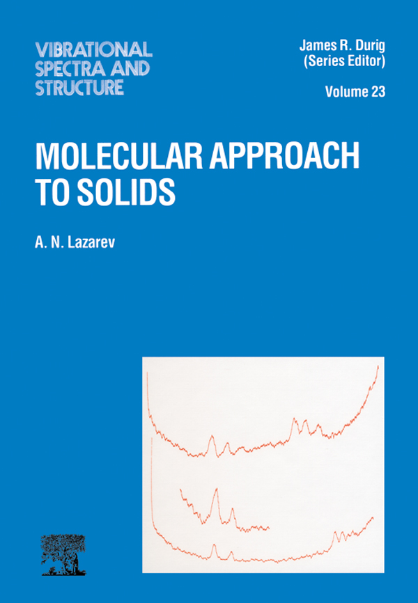 Molecular Approach to Solids