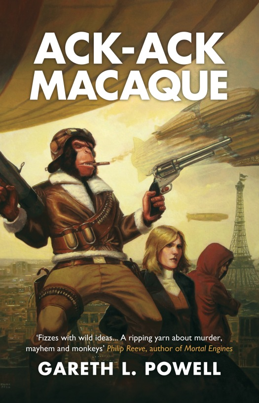 Ack-Ack Macaque By: Gareth L. Powell