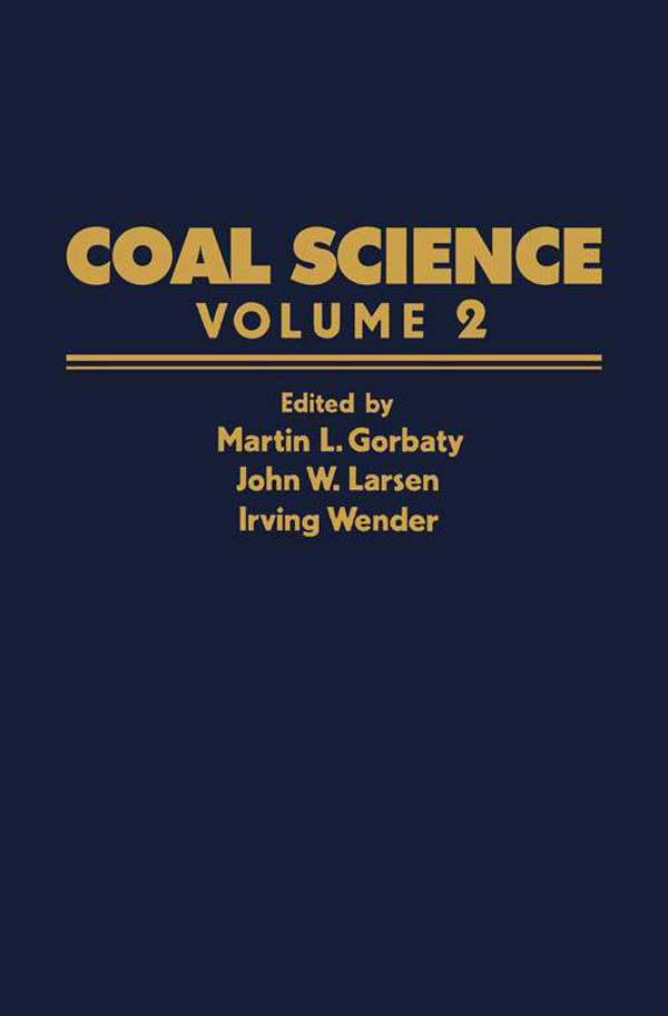 Coal Science Volume 2