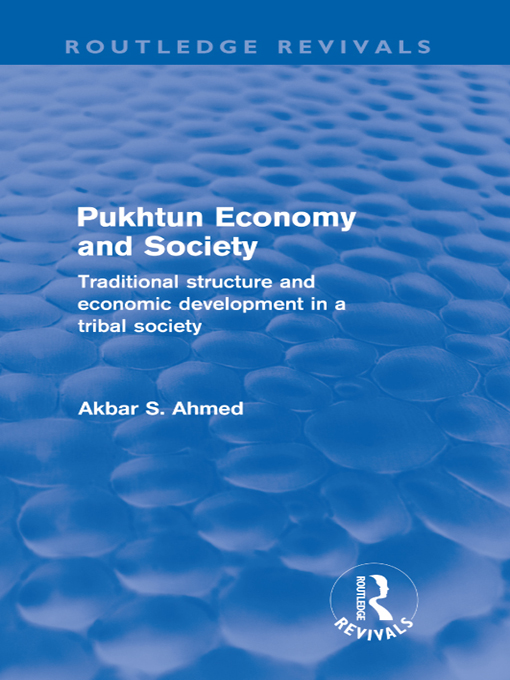 Pukhtun Economy and Society (Routledge Revivals)