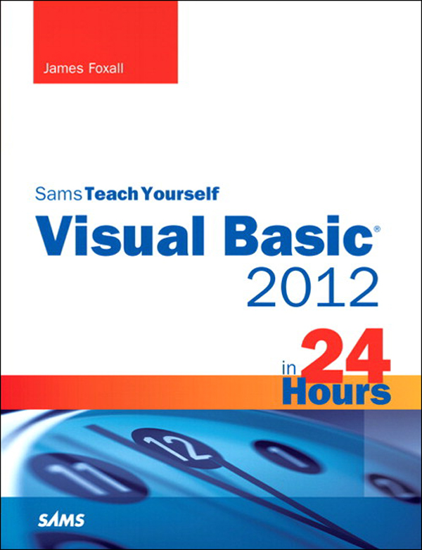 Sams Teach Yourself Visual Basic 2012 in 24 Hours