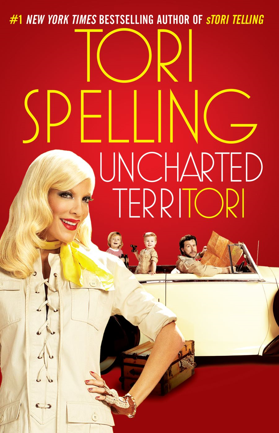 uncharted terriTORI By: Tori Spelling