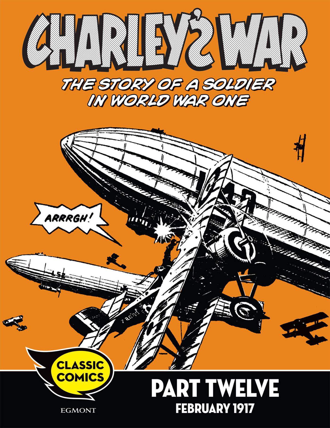 Charley's War Comic Part Twelve: February 1917